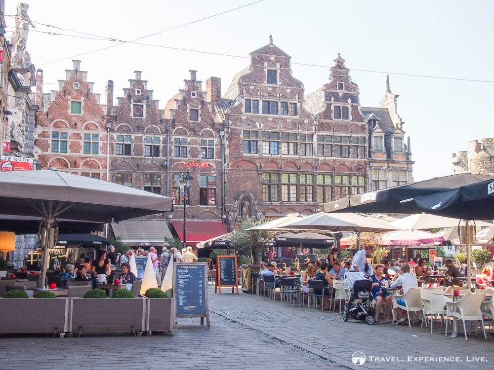 Visiting Ghent, Belgium: Patershol