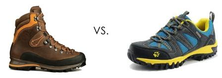 Best Hiking Footwear: Hiking Boots vs. Hiking Shoes