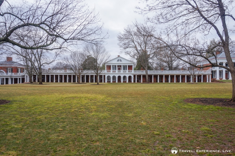 Pavilions and Lawn Rooms, University of Virginia