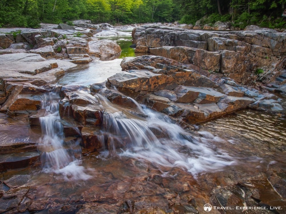 Waterfall in the White Mountains, New Hampshire