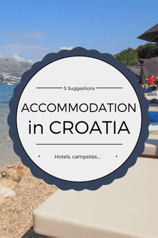 Accommodation in Croatia - 5 Suggestions