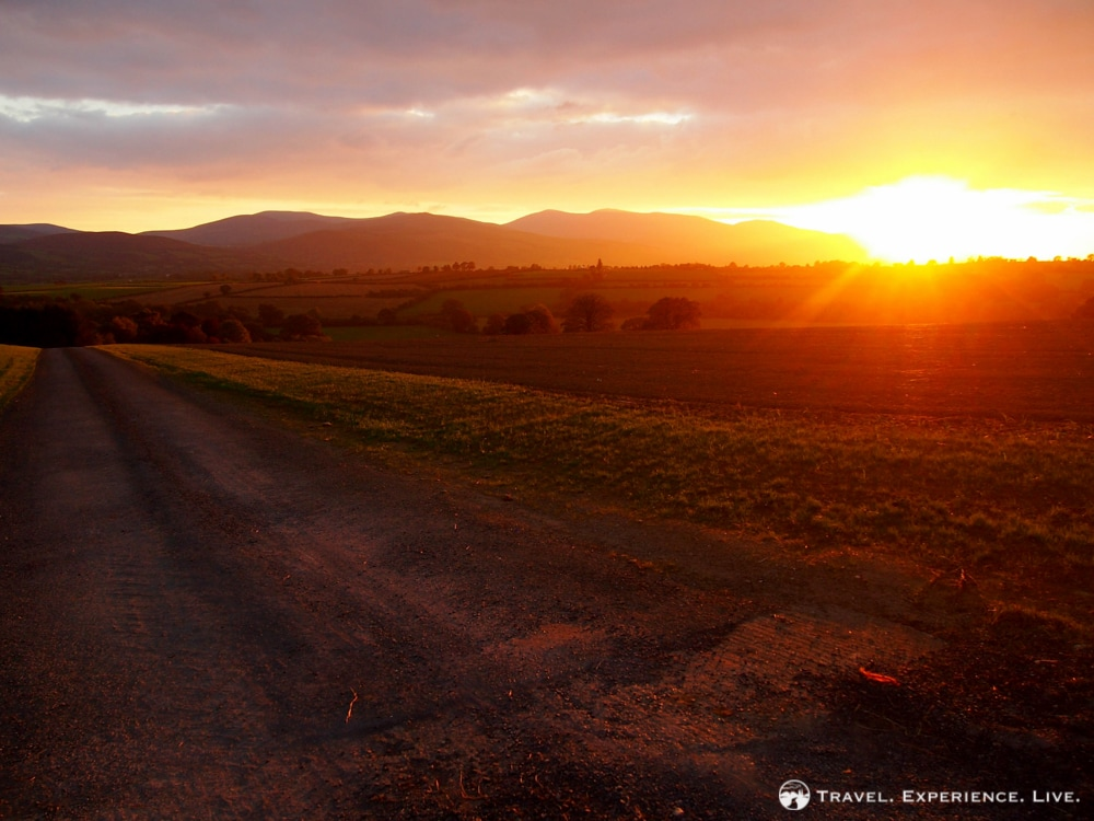 Sunset in Tipperary, Ireland