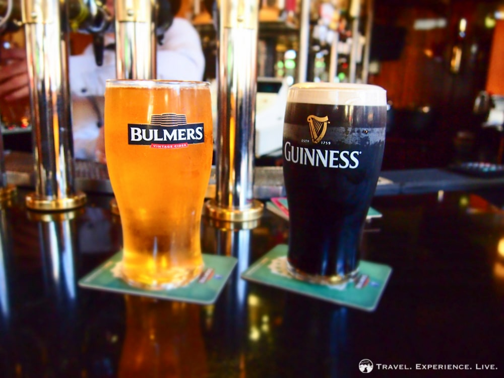 Bulmers and Guinness, Ireland
