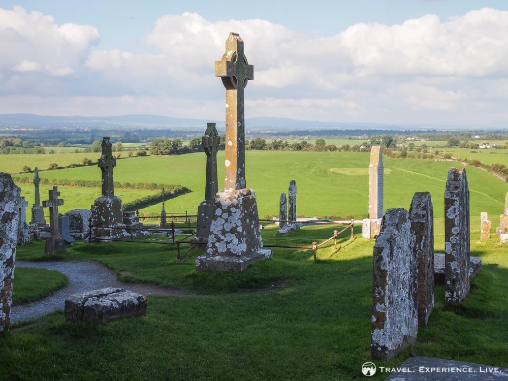 Gaelic crosses at the Rock of Cashel, Ireland