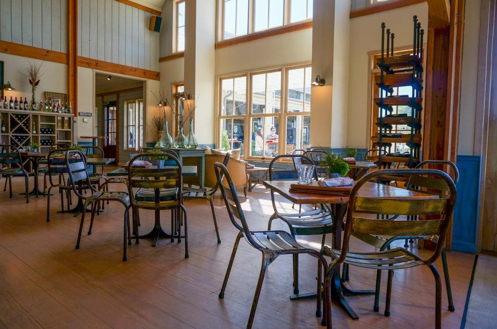 Tasting room, Pippin Hill Farm & Vineyards