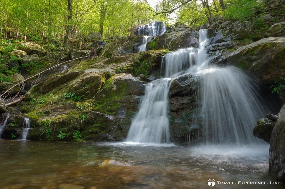 Dark Hollow Falls in Shenandoah National Park, Virginia