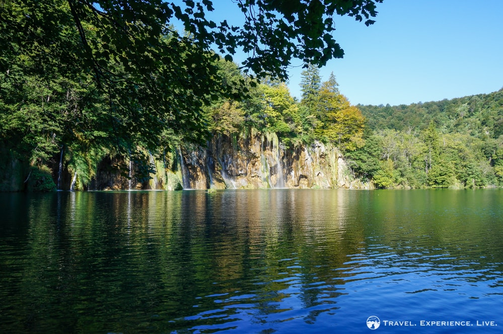 Lake and waterfalls, Plitvice Lakes National Park