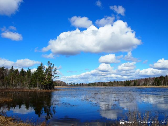 Lake in Lapland, Sweden
