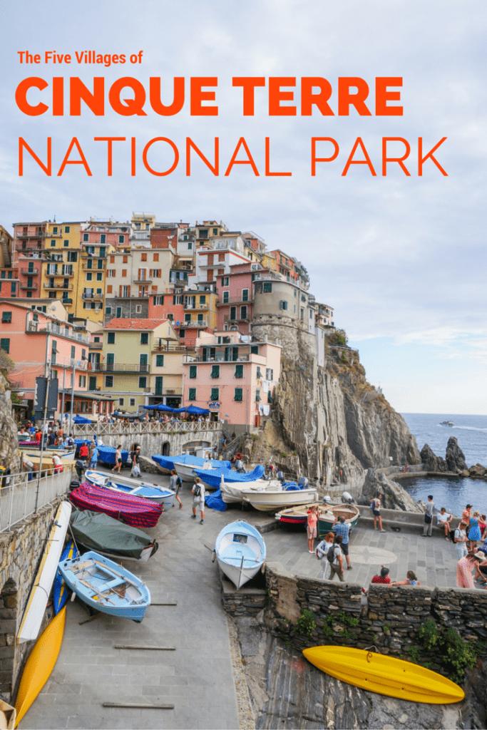 The Five Cinque Terre Villages, Cinque Terre National Park, Italy
