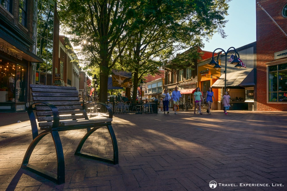 Historic Downtown Mall, Charlottesville