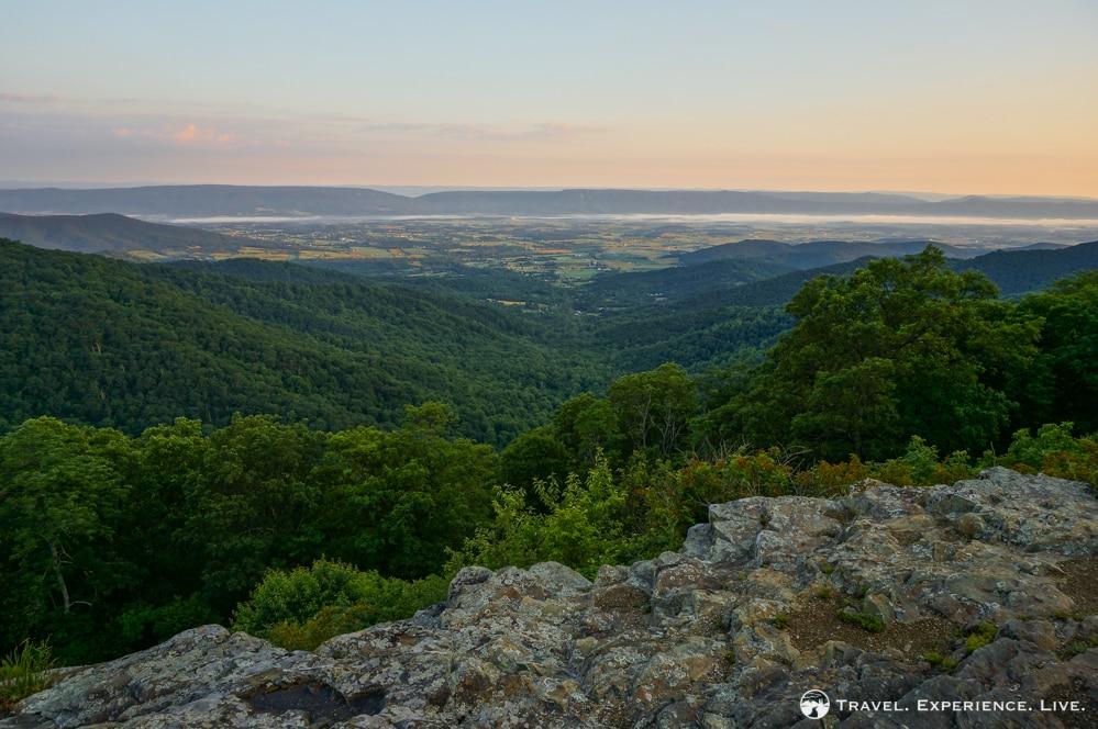 Sunrise over Shenandoah Valley, Virginia