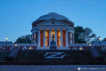 The Rotunda, University of Virginia photos, Charlottesville