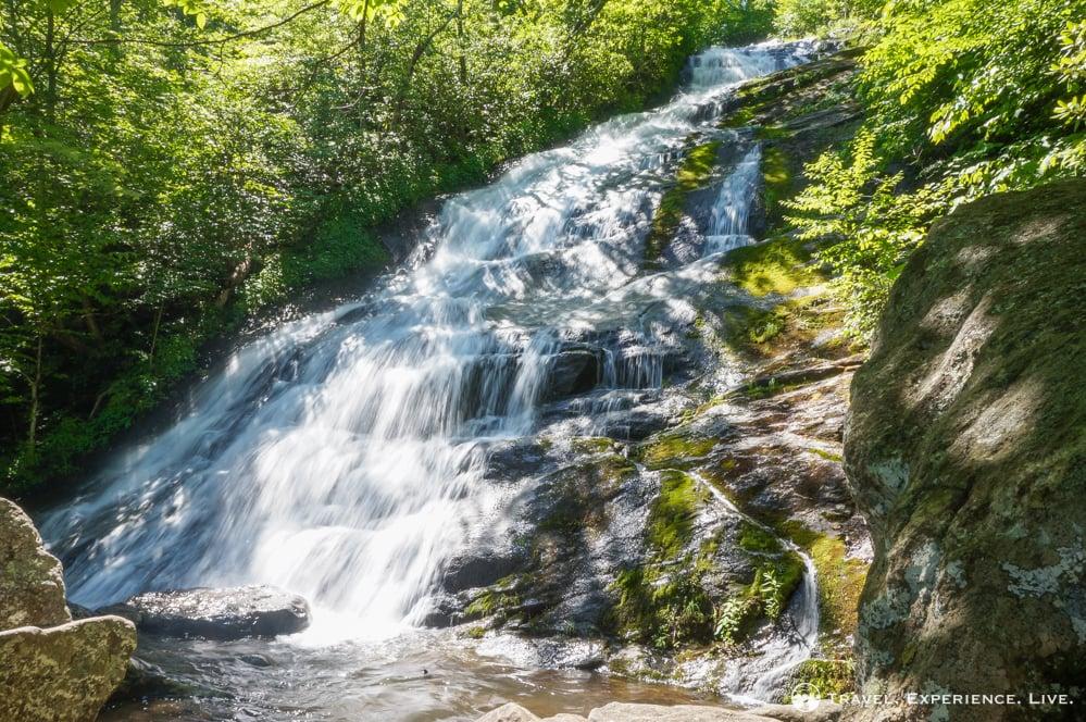 Waterfall at Crabtree Falls