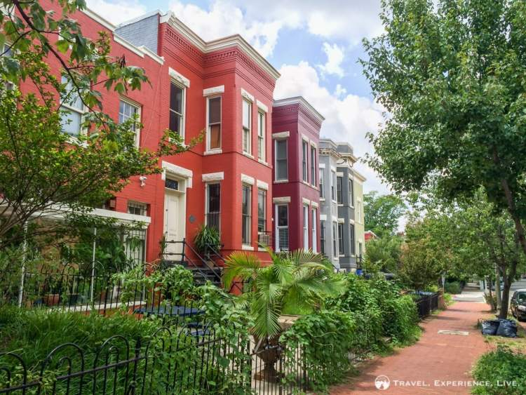 Capitol Hill district in Washington, D.C
