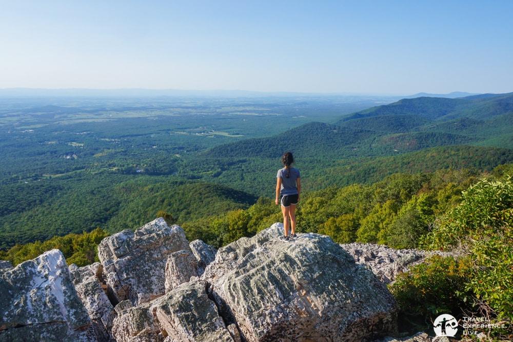 Caroline at the Turk Mountain summit
