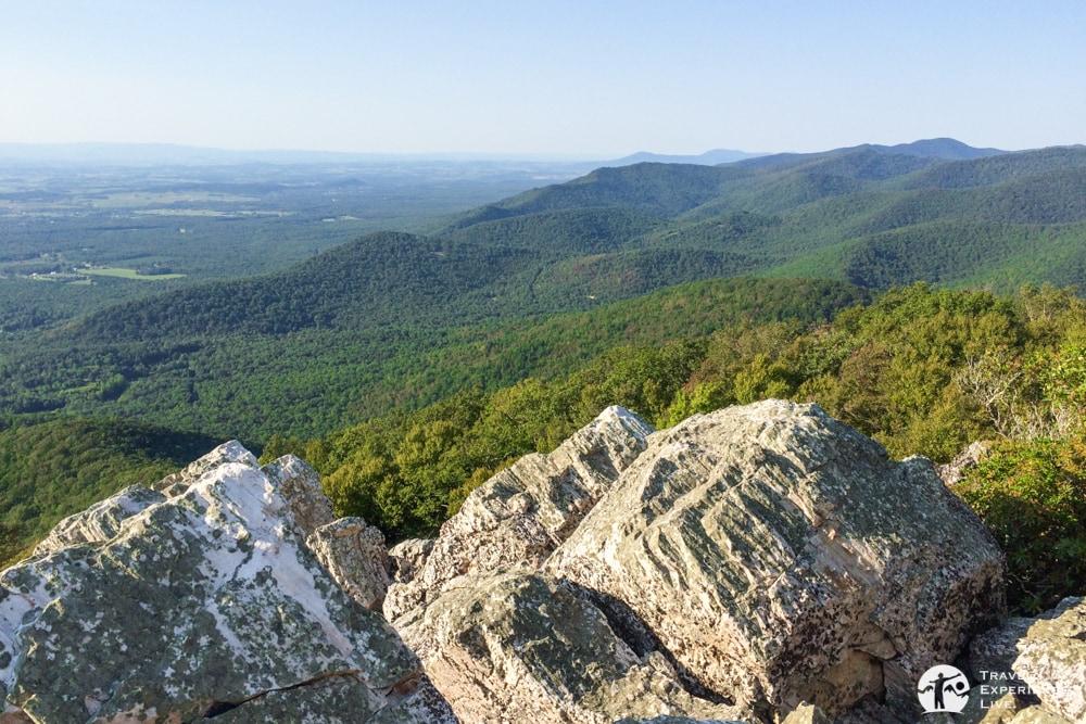 Summit of Turk Mountain, Shenandoah National Park