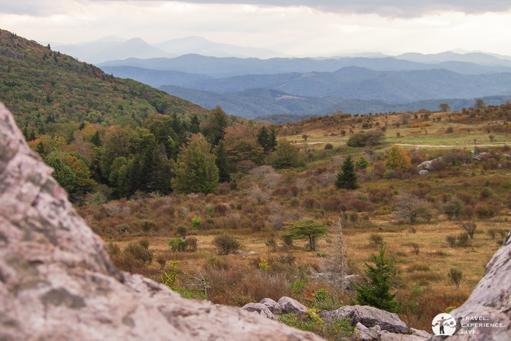 Dusk in Grayson Highlands, Virginia
