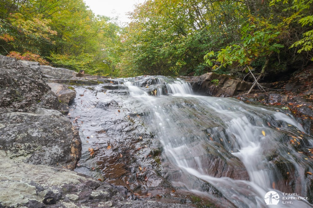 Wilson Creek waterfall, Grayson Highlands State Park