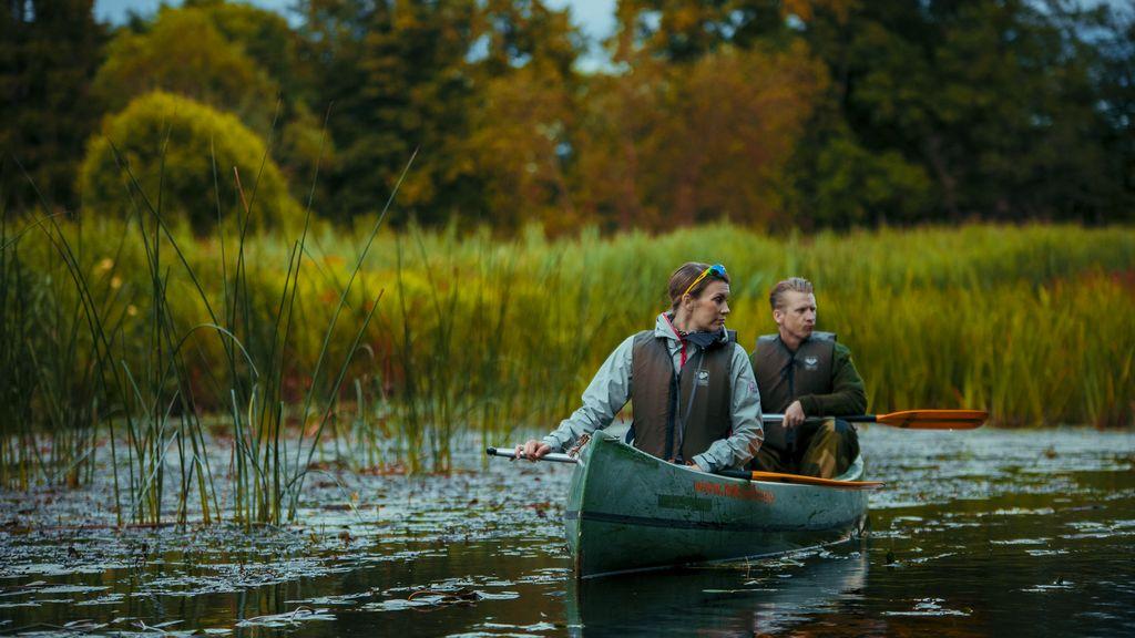Canoeing in Sooma National Park, Estonia
