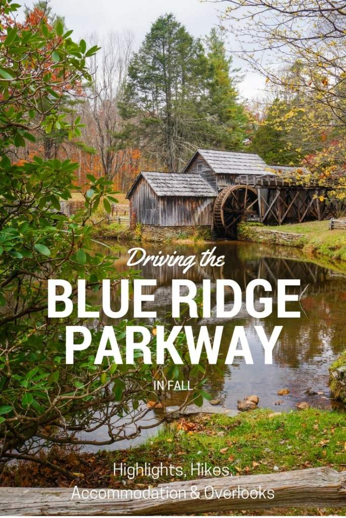 Driving Virginia's Blue Ridge Parkway in Fall
