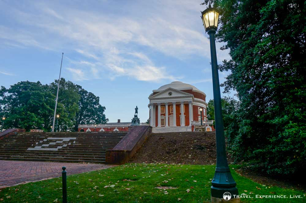 Late afternoon at The Rotunda, University of Virginia photos
