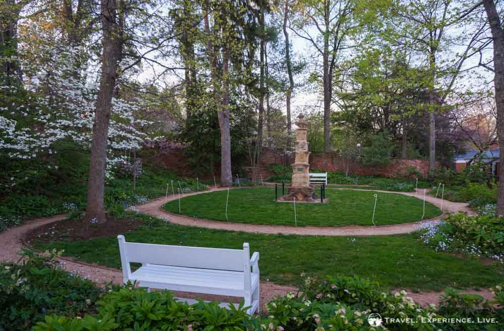 University of Virginia gardens