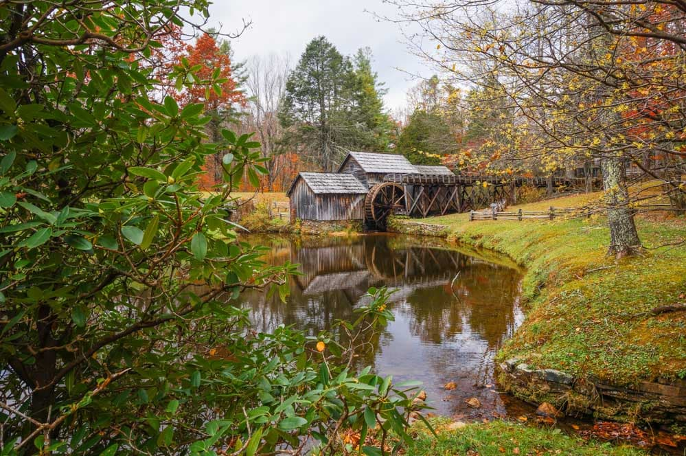 Mabry Mill, Blue Ridge Parkway, Virginia - Adventure Near Charlotte, North Carolina