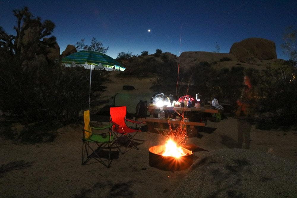 Jumbo Rocks Campground, Joshua Tree National Park, California