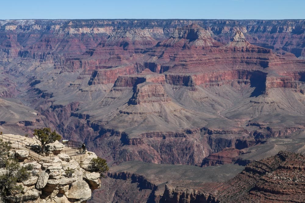 Viewpoint in Grand Canyon National Park, Arizona