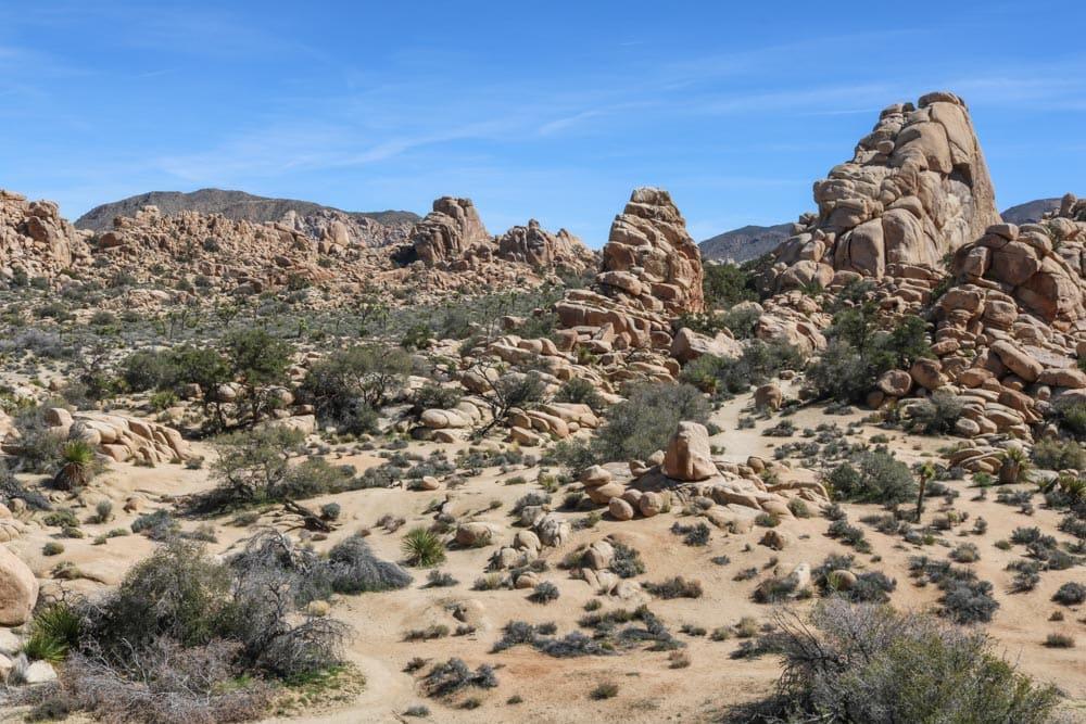 Hidden Valley landscape, Joshua Tree National Park
