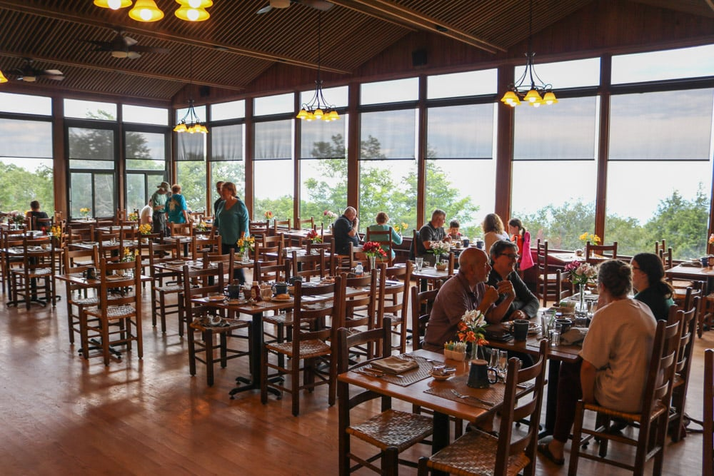 Dining Room at Skyland, Shenandoah National Park