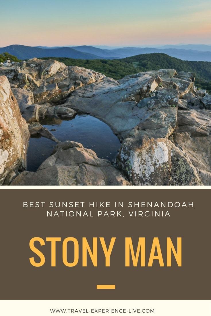 Hiking Stony Man, Best Sunset Hike in Shenandoah National Park