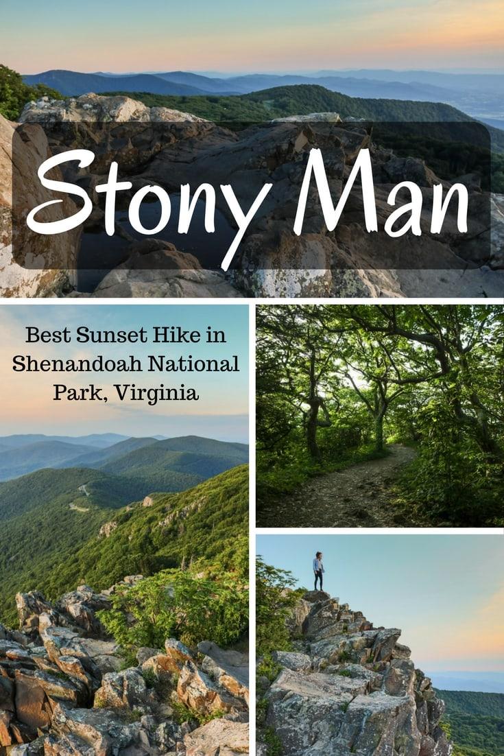 Hiking the Stony Man Trail, Best Sunset Hike in Shenandoah National Park