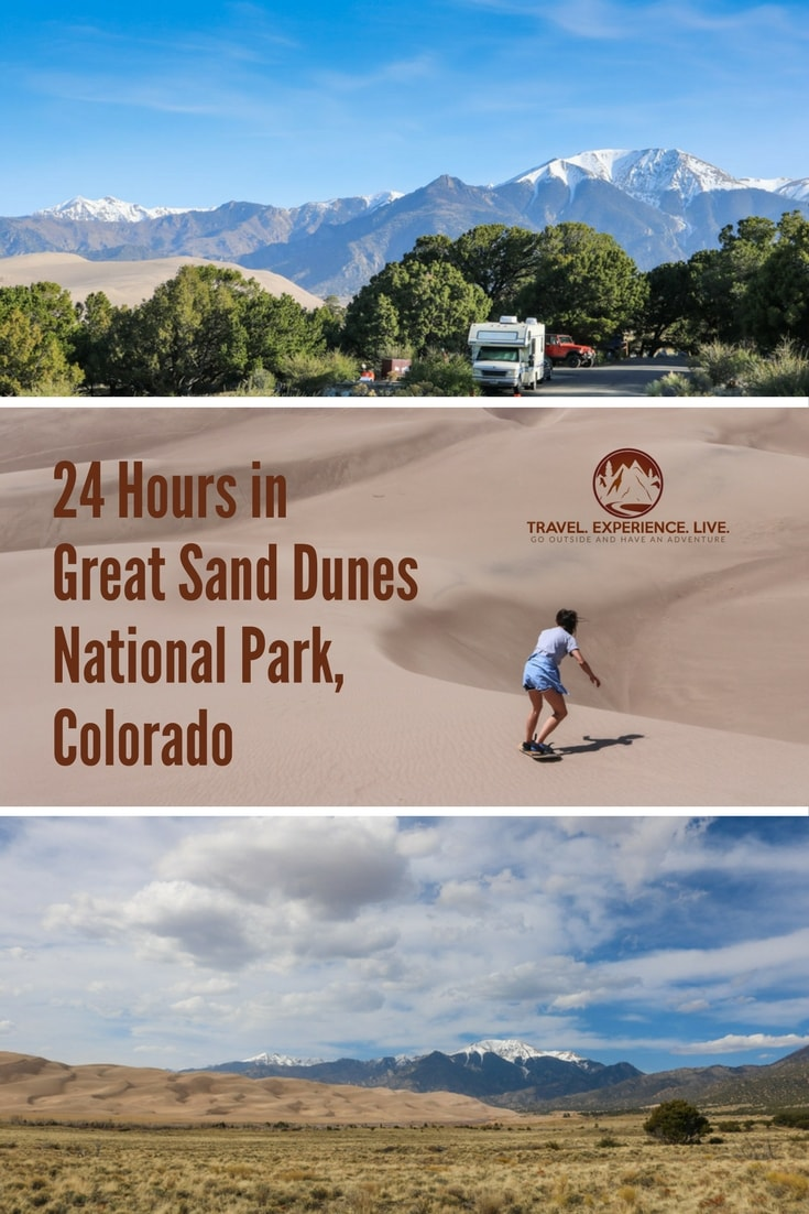 A Day in Great Sand Dunes National Park, Colorado, United States