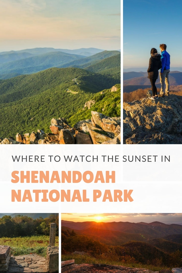 Where to Watch the Sunset in Shenandoah National Park, Virginia