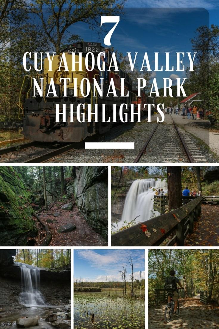 7 Cuyahoga Valley National Park Highlights, Ohio