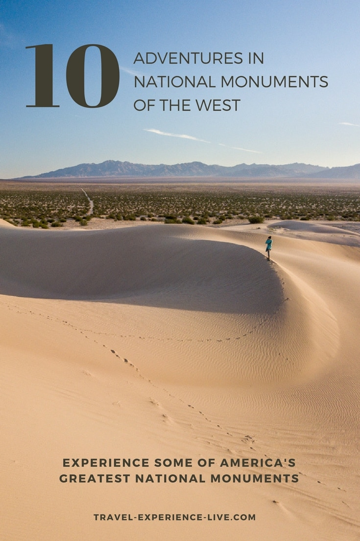 Adventures in National Monuments of the West