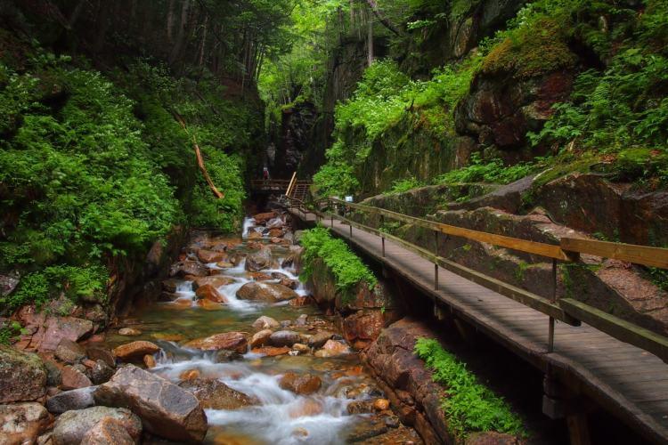 Franconia Notch State Park, New Hampshire - Beautiful USA State Parks