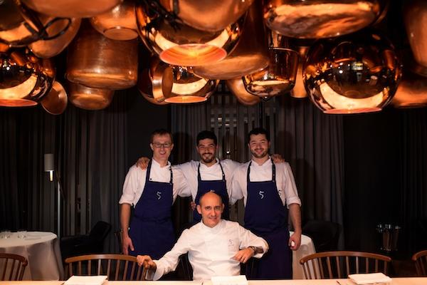 Berlin 11.11.2013 Dominical Paco Perez celebra en Berlin la consecucion de la primera estrella Michelin para su restaurante 5 en el hotel Das Stue Fotografia Albert Bertran