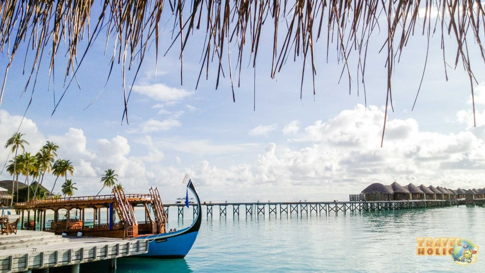 Paysage des Maldives