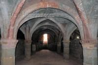 Iran - Hormuz island: beautifully simple vaulted ceilings ...
