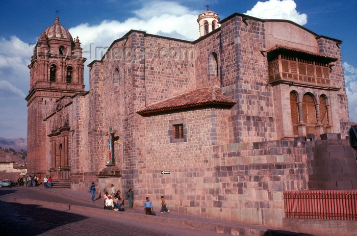 peru13: Cusco, Peru: Cathedral of Santo Domingo, built over the ruins of the Inca Viracocha's palace - photo by J.Fekete - (c) Travel-Images.com - Stock Photography agency - Image Bank