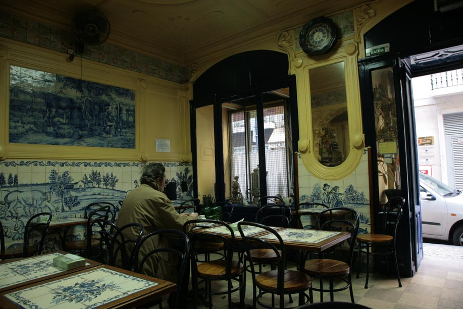 Old Lisbon Cafe  Portugal Travel Guide Photos