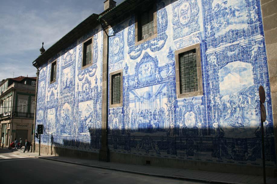 Porto Azulejos  Portugal Travel Guide Photos