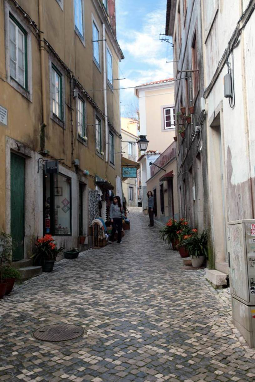 Practically at the midpoint of the iberian. Street in Sintra's Old Town | Portugal Travel Guide Photos