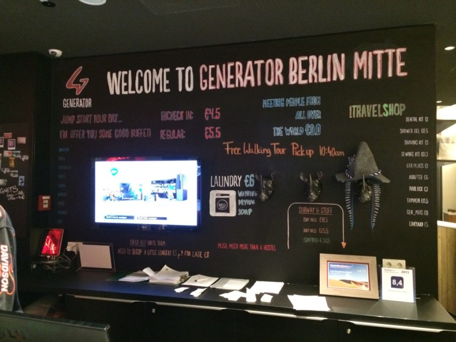 Generator Hostel Berlin Mitte © Travel-me-happy.com