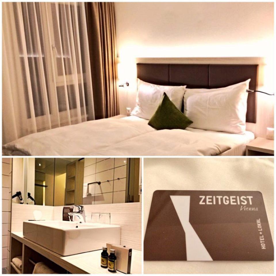 Chambre du Zeitgeist Hotel Vienna