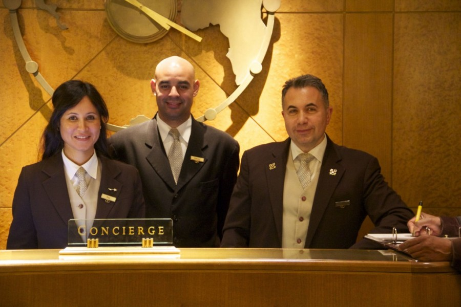 Concierges sofitel new york