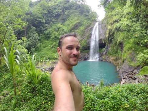 cascade papenoo tahiti