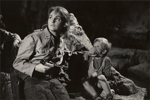 The scene from the movie